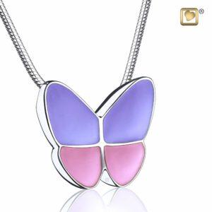 Assieraad vlinder roze paars