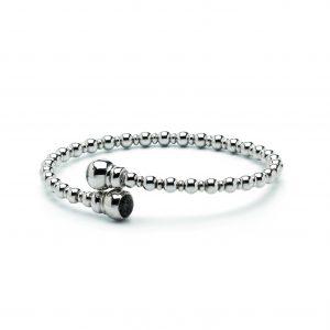 Assieraad armband zilver