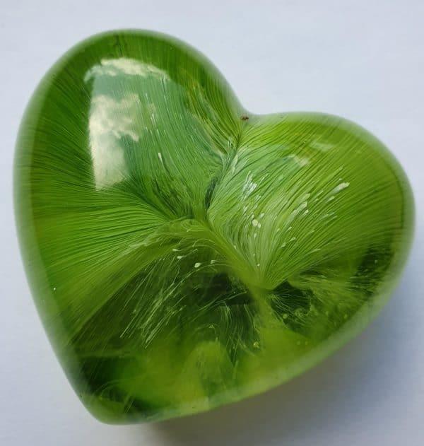 Urn hart mini urn groen