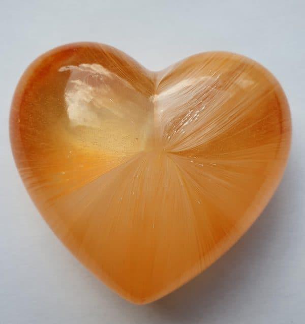 Urn mini urn hart oranje