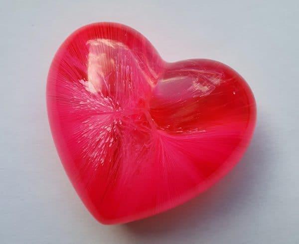 Urn mini urn hart roze