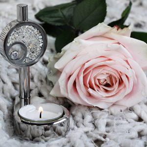 Urn mini urn waxinelicht