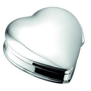 Urn mini urn hart zilver