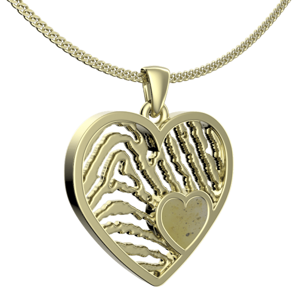Royolz Assieraad hart vingerafdruksieraad