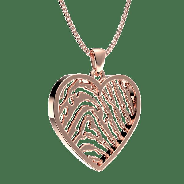 Royolz hanger hart vingerafdruk