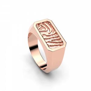 Royolz vingerafdruk ring