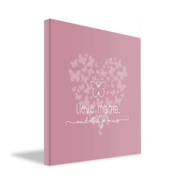 Lief dagboekje mama gedenken