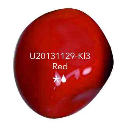 Urn knuffelkei rood