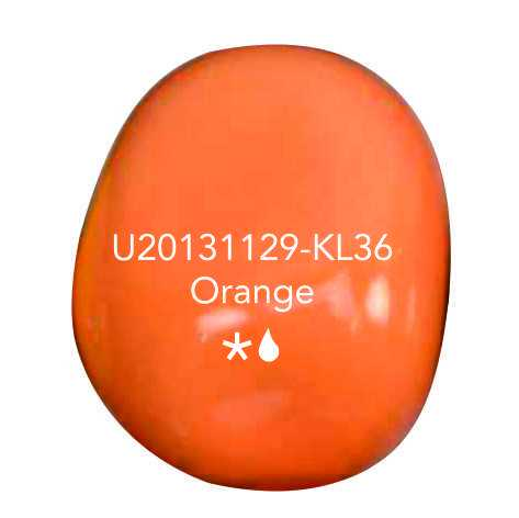 Urn knuffelkei orange
