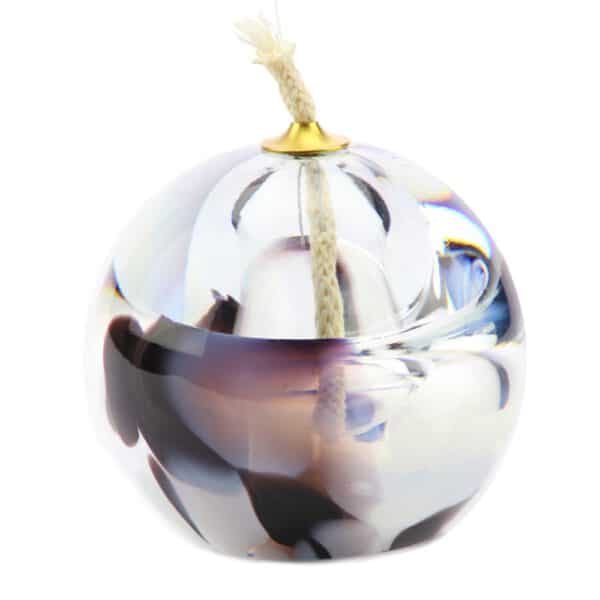 Urn olielampje glas