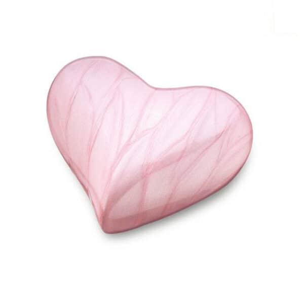 Urn hart roze mini urn