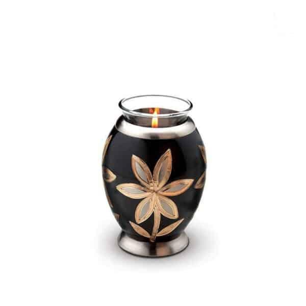 Urn gedenklicht crematie as