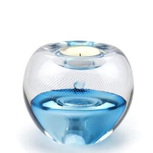 Urn waxinelicht crematie as