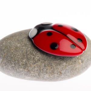 Mini urn kinderurn lieveheersbeestje