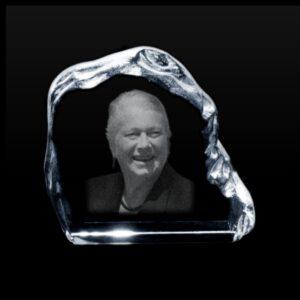 foto in glas herinnering in glas