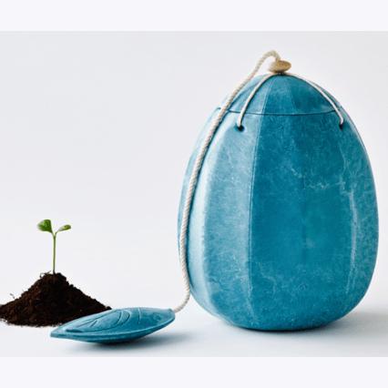 Beyondlife urn Turkoois