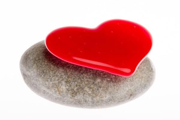 Mini urn hart kinderurn