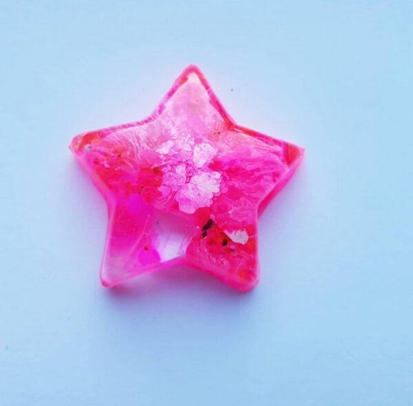 Urn ster roze