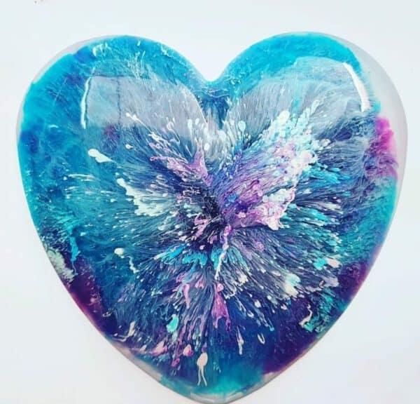 Urn memorie heart