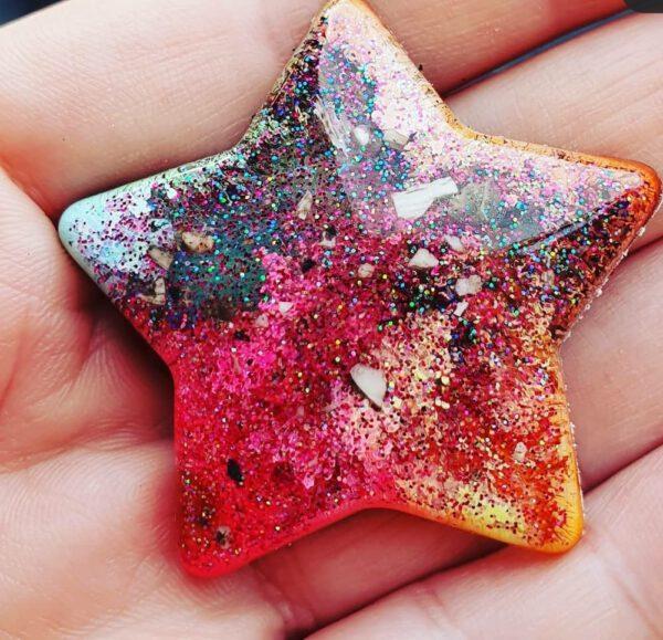Urn Litte star asverwerking