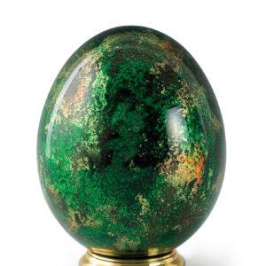 Urn glas eivorm dierenurn