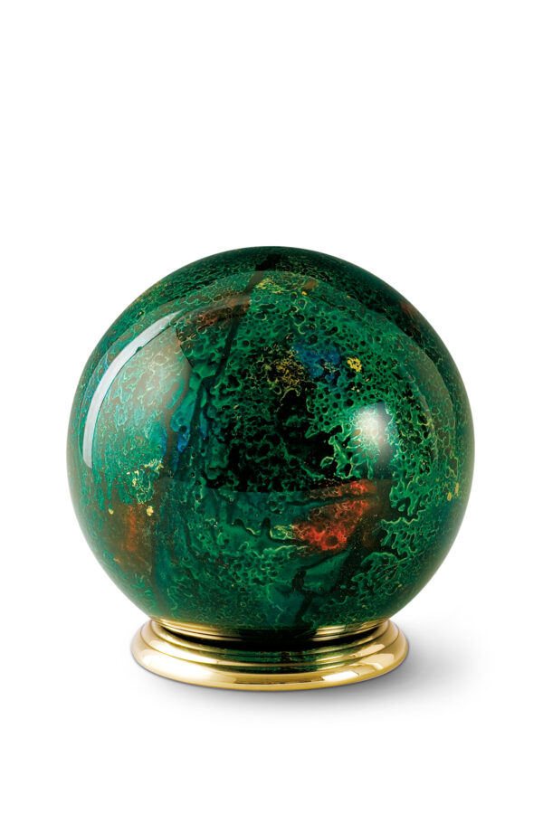 Urn rond glas dierenurn