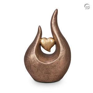 Keramische urn hart
