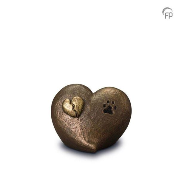 Dierenurn hart pootje