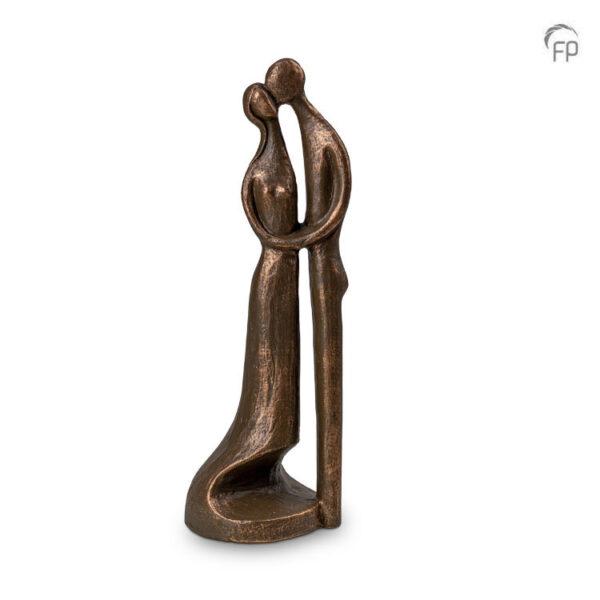 Keramische urn brons