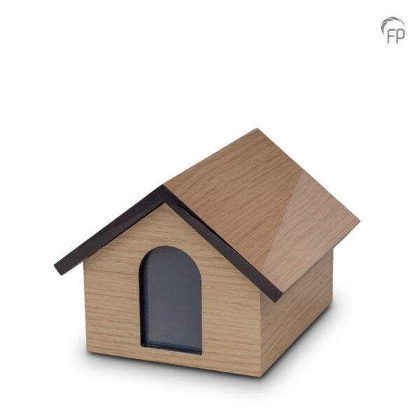 Dierenurn memory house hout