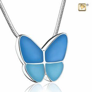 Assieraad vlinder blauw