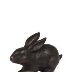 Bronzen urn konijn