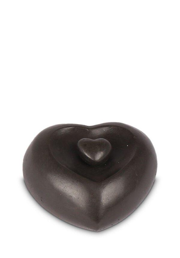 Bronzen urn hart