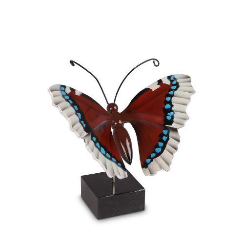 Vlinderurn hout vlinder