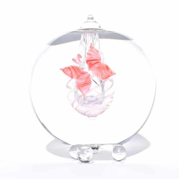 As in glas urn