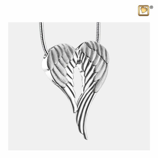 PD1370 PENDANT Angel Wings™ Rhodium Plated Two Tone