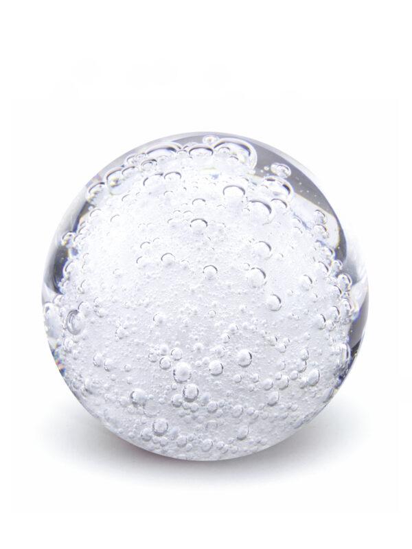 Glazen urn bol niet transparant