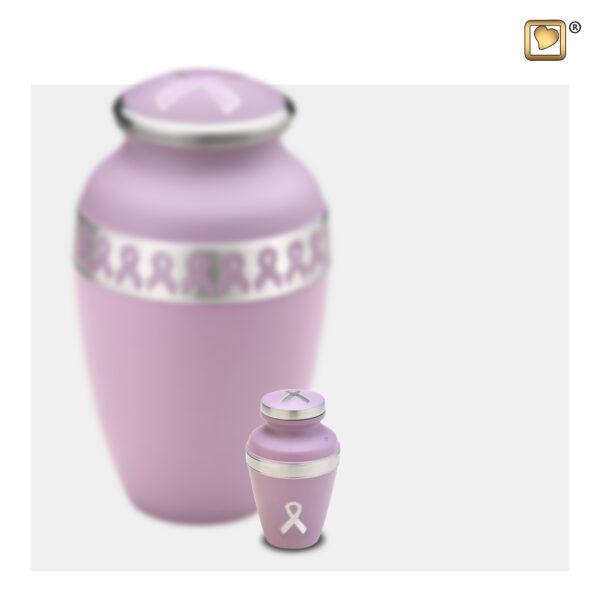 K900 Awareness keepsake urn loveurns