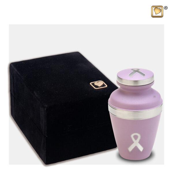 K900 Awareness keepsake urn pink
