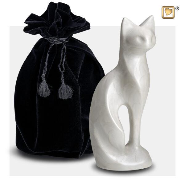 P260 cat urn Dierenurn kattenurn