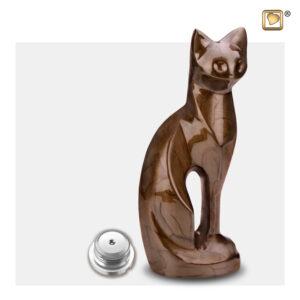 P262 cat urn Dierenurn kattenurn