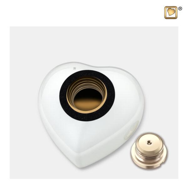 P272K Dierenurn pet urn white