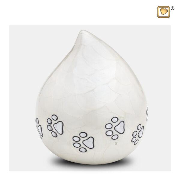 P260 Cat Pet urn dierenurn white