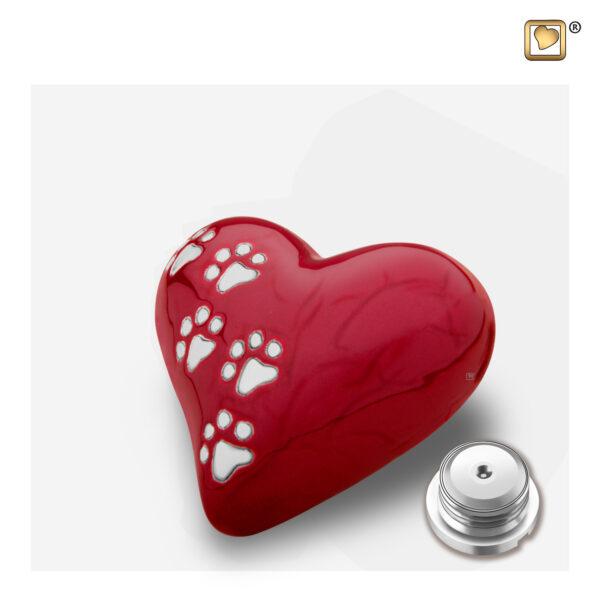 P637K Keepsake heart Dierenurn