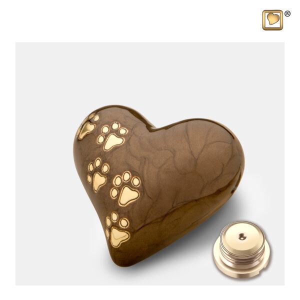P6391KKeepsake heart Dierenurn