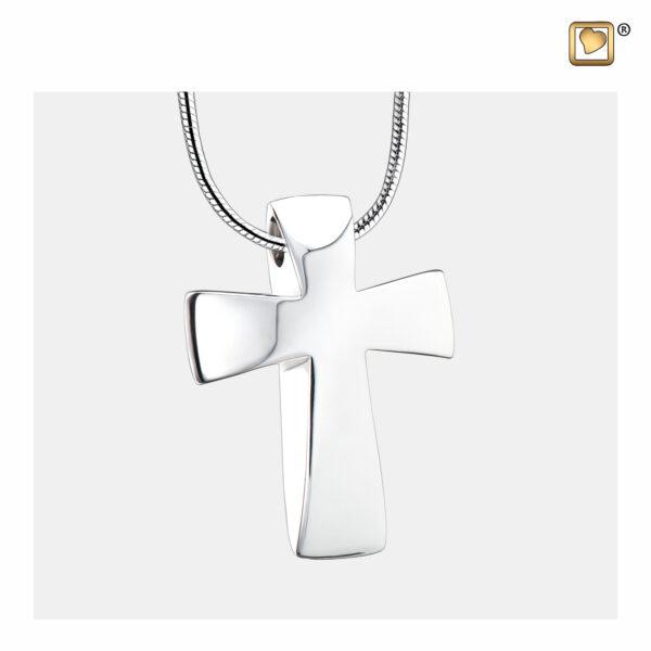PD1090 Ashanger cross zilver