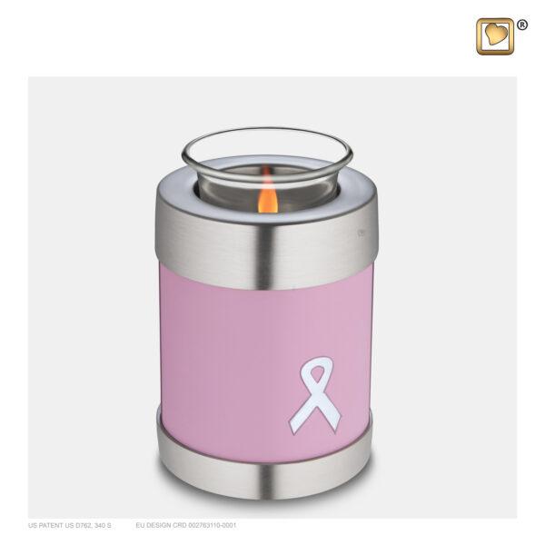 T900 Awareness Tealight Urn Pink Loveurns