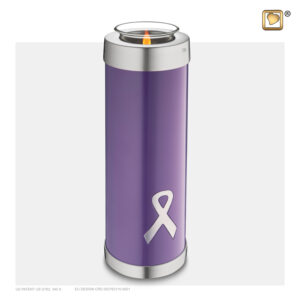 T903 Awareness Tall Tealight Urn Loveurns