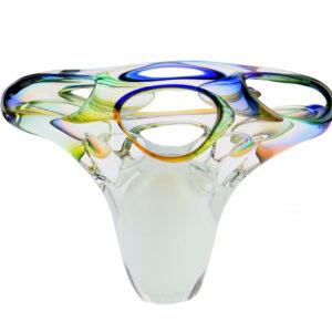 U18 earth glazen urn