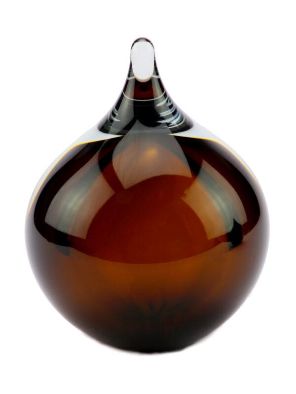 U31C glazen urn druppel cognac